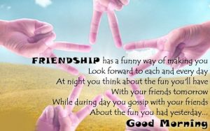 Best friends Good Morning Photo Pics Download