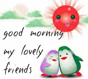 Best friends Good Morning Wallpaper Photo HD For Whatsaap