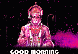 Mangalwar Good Morning Images Wallpaper Photo With Hanuman Ji