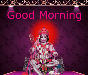 Mangalwar Good Morning Images Photo pictures Pics With Hanuman Ji