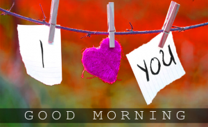 Good Morning I love you Images Photo Download