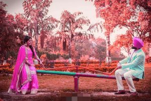Punjabi Couple Profile Wedding Images For Whatsaap