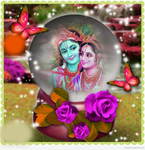 God Radha Krishna Good Morning Photo Pics Images Photo Pictures Free HD Download