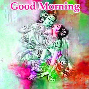 God Radha Krishna Good Morning Images Photo Download