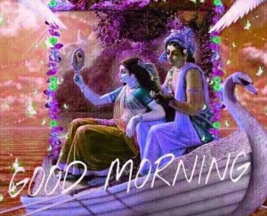 God Radha Krishna Good Morning Pics Wallpaper Download