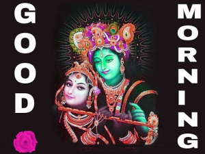 God Radha Krishna Good Morning Photo pictures Free Download