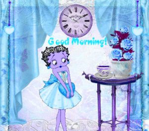 Betty Boop Good Morning Images Download for Whatsaap