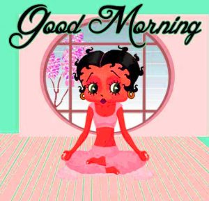 Betty Boop Good Morning Images Wallpaper Photo HD
