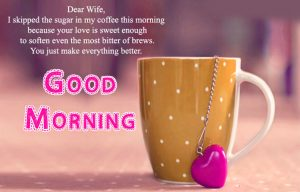 Wife Good Morning Images Wallpaper Photo HD Download
