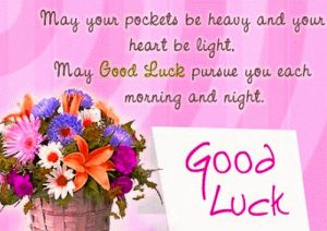 Good Luck Good Morning Images Photo Pictures Download