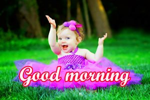 Baby Good Morning Images Wallpaper Photo Pics
