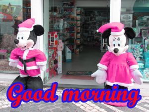 Mickey Mouse good morning Photo