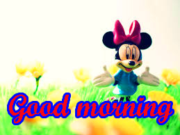 Mickey Mouse good morning