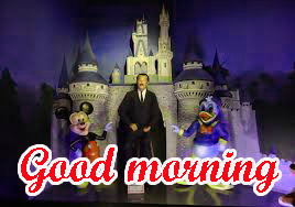 Mickey Mouse good morning Wallpaper Photo Pics