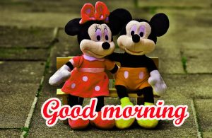 Mickey Mouse good morning Wallpaper Pics Download