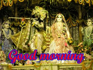 God Radha Krishna good morning Wallpaper