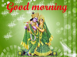 God Radha Krishna good morning Photo Pics HD