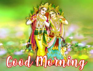 God Radha Krishna Good Morning Photo Pictures Images HD