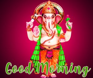 Lord God Ganesha Good Morning Images Wallpaper Pictures Photo Pics Free HD Download For Whatsapp