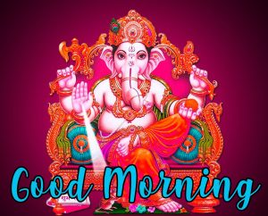 551 Ganesha Good Morning Images Photo Wallpaper Pics Hd