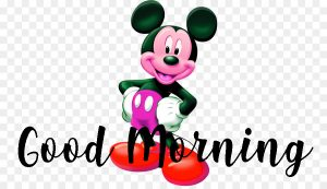 Mickey Mouse good morning Images Photo Wallpaper Pictures Free HD