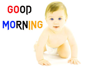 Baby Good Morning Images pictures photo hd for whatsapp