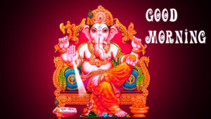 Ganesha Good Morning Images pictures photo hd