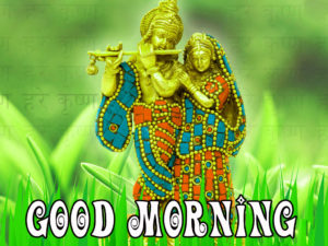 God Radha Krishna Good Morning images wallpaper pics hd