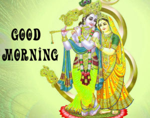 God Radha Krishna Good Morning images pics photo hd
