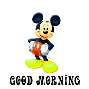 mickey mouse good morning images photo wallpaper hd download