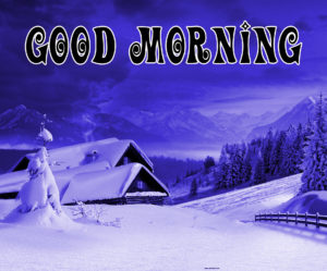Winter Good morning Images pictures photo free download