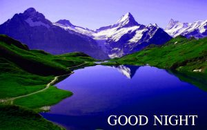 Beautiful Nature Good Night Wishes Images Wallpaper for Facebook