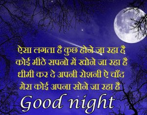 Hindi Quotes Good Night Images Photo Pics Free Download
