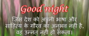 Hindi Quotes Good Night Images Wallpaper Pics Free