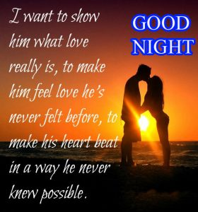 Good Night Images for Him & Her Pictures Wallpaper