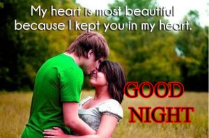 Good Night Images for Him & Her Wallpaper for Couple