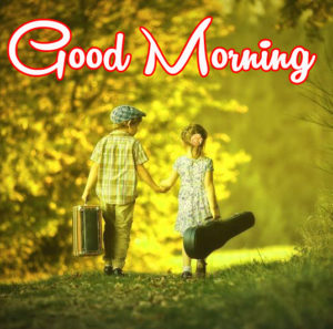 Stylish Boys & Girls Good Morning Images photo wallpaper free download