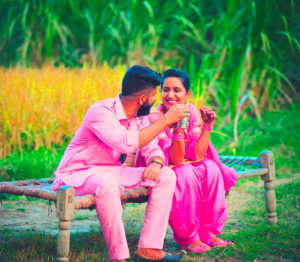 Punjabi Couple Images photo picture download
