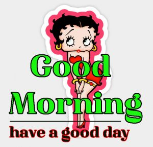 Betty Boop Good Morning Images 5