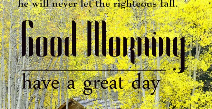 Good Morning Bible Quotes Images 14