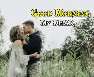 Kiss Me Good Morning Images Pics Wallpaper for Whatsapp