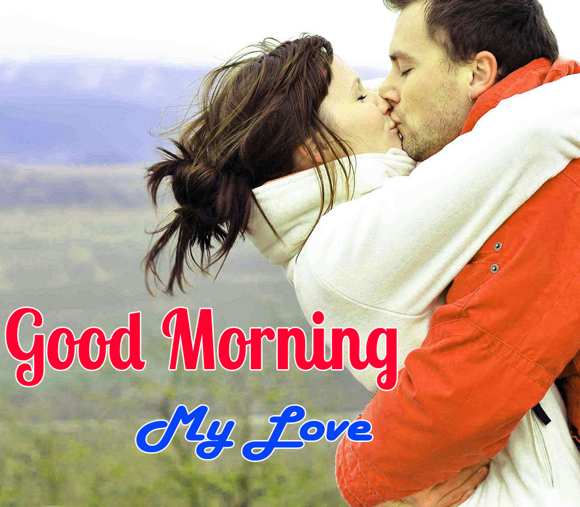 45+ Kiss Me Good Morning Images Pics Wallpaper for Girlfriend