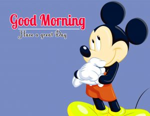 Mickey Mouse good morning Images Pics Wallpaper Download