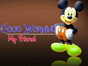 Mickey Mouse good morning Images Pics Wallpaper for Facebook