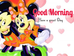 Mickey Mouse good morning Images Pics photo Download