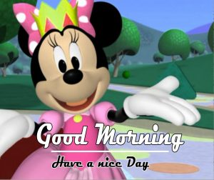 Mickey Mouse good morning Images Wallpaper Free Download