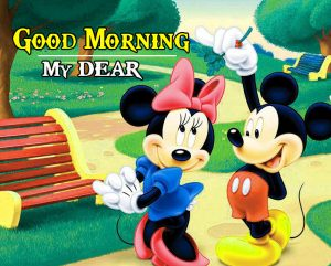 Mickey Mouse good morning Images Wallpaper Pics for Whatsapp