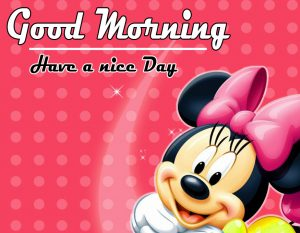 Mickey Mouse good morning Images pics Wallpaper HD