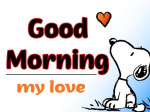 Snoopy Good Morning Images 11