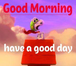 Snoopy Good Morning Images 12